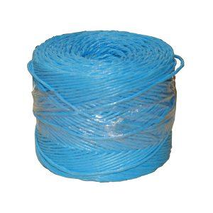Niebieski sznur z polipropylenu