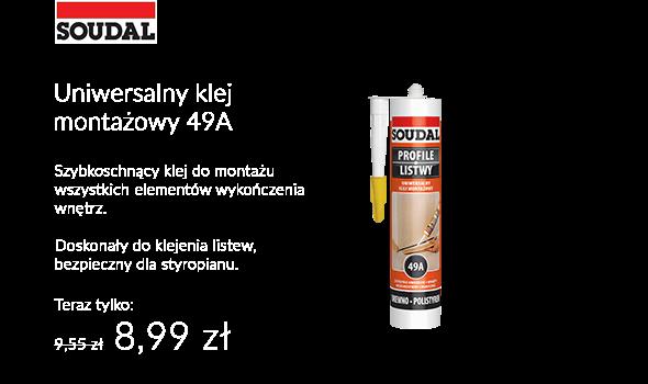 KLEJ MONTAŻOWY 49A SOUDAL