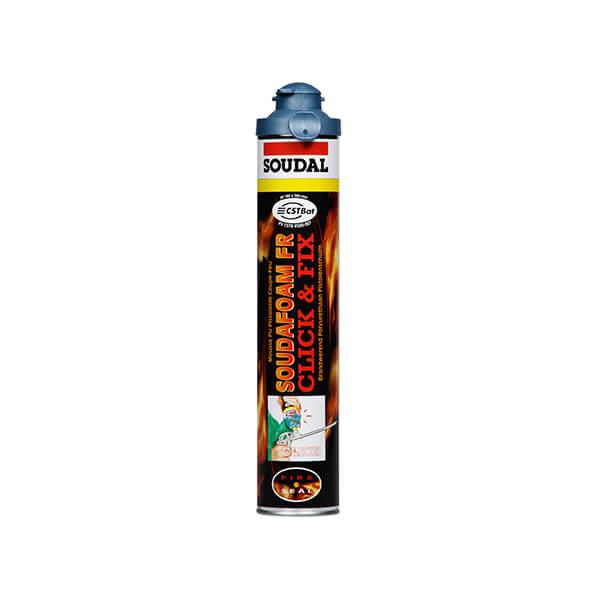Pianka przeciwpożarowa Soudafoam FR 750ml Click & Fix SOUDAL